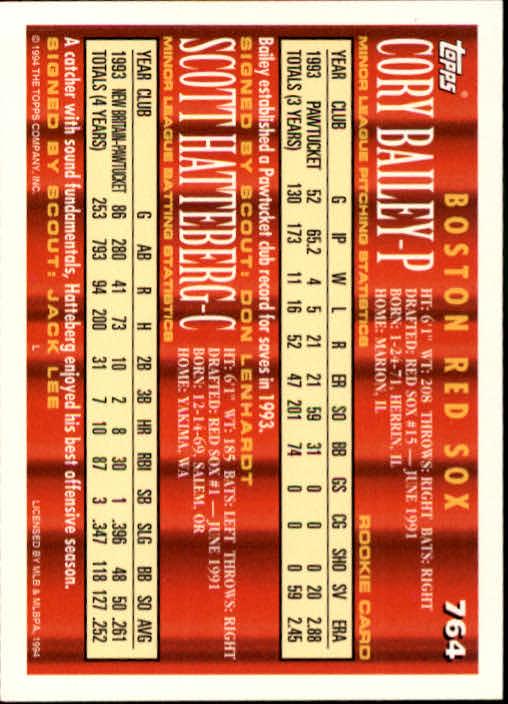 1994-Topps-Beisbol-Tarjeta-Recoger-461-792 miniatura 447