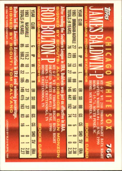 1994-Topps-Beisbol-Tarjeta-Recoger-461-792 miniatura 449