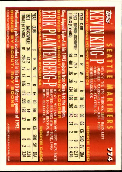 1994-Topps-Beisbol-Tarjeta-Recoger-461-792 miniatura 461