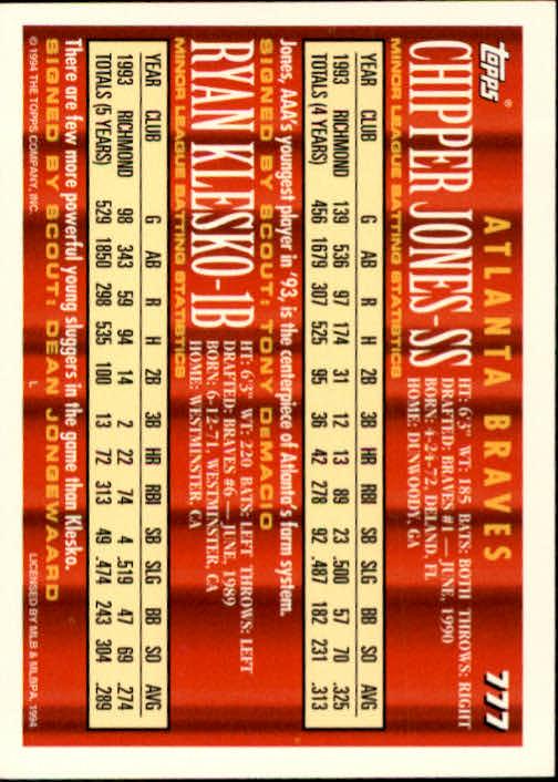 1994-Topps-Beisbol-Tarjeta-Recoger-461-792 miniatura 465