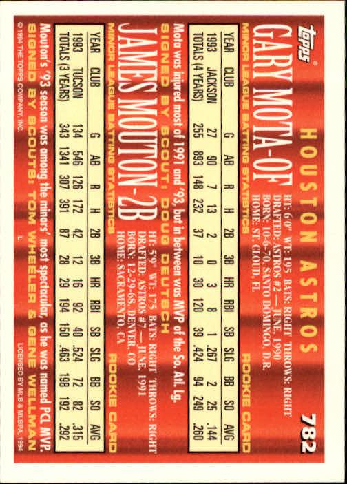 1994-Topps-Beisbol-Tarjeta-Recoger-461-792 miniatura 473