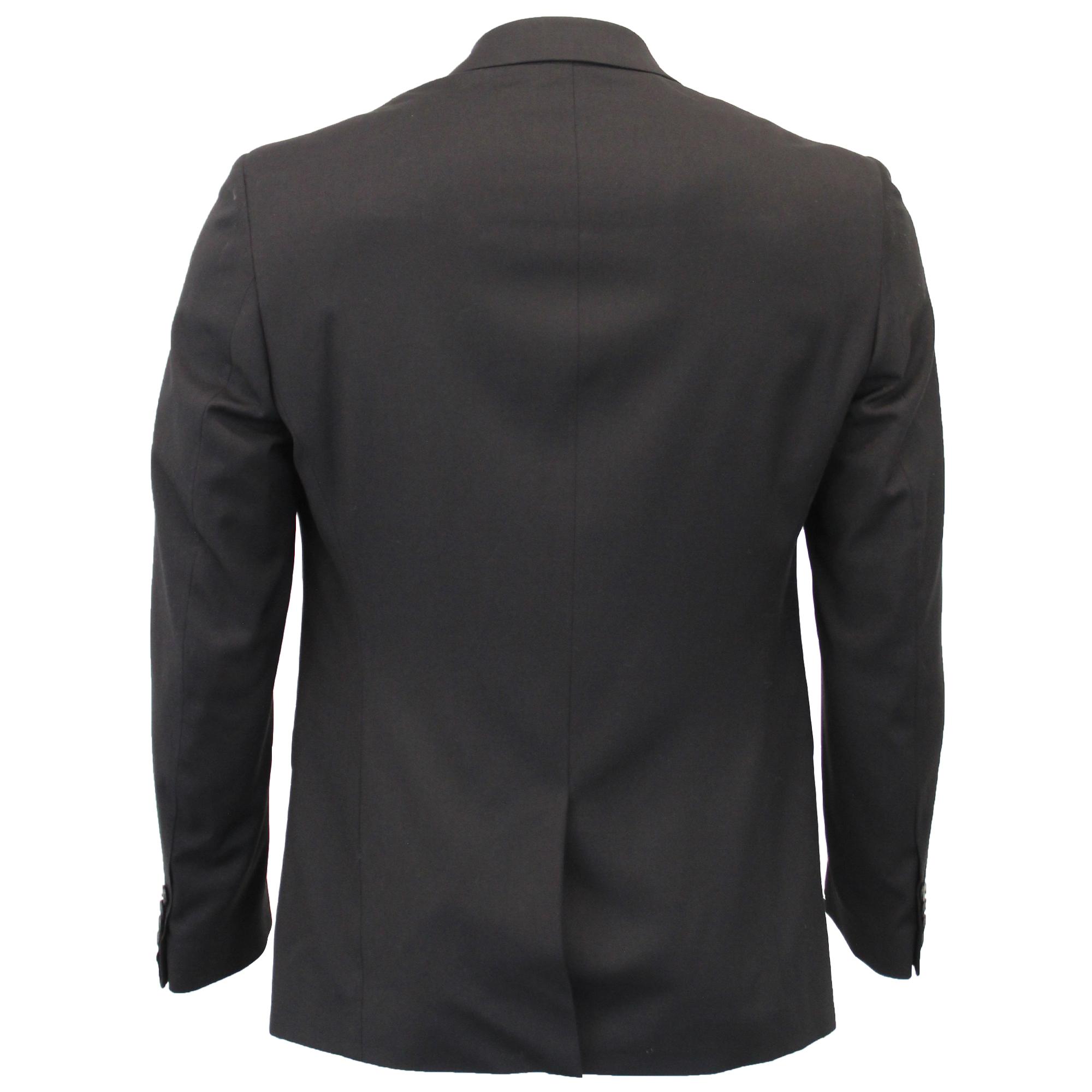 Pantaloni Elasticizzati Cavani Nero Giacca 3 Completo Pezzi Gilet Uomo Slim xYSzp