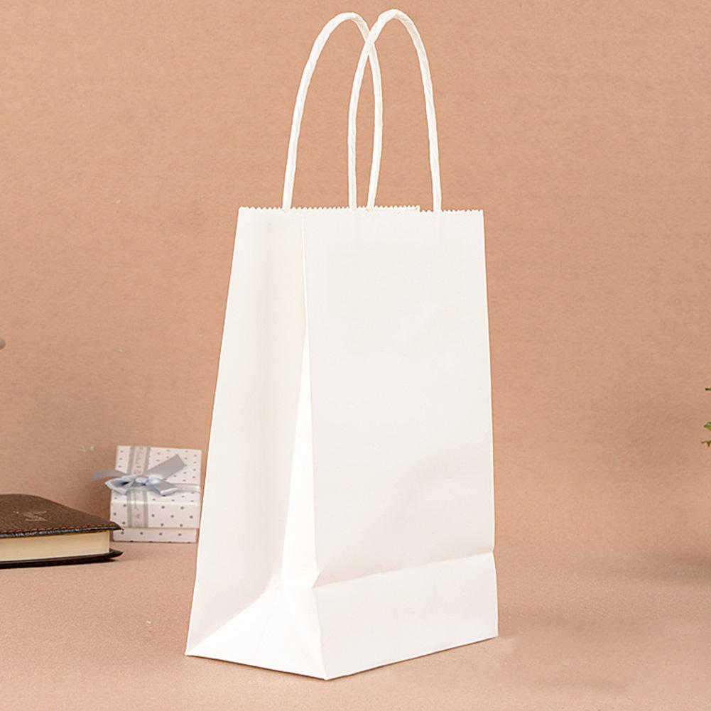 Bolsas-Cotillon-Papel-de-Kraft-regalo-con-asas-reciclable-TIENDA-Lote-mochila