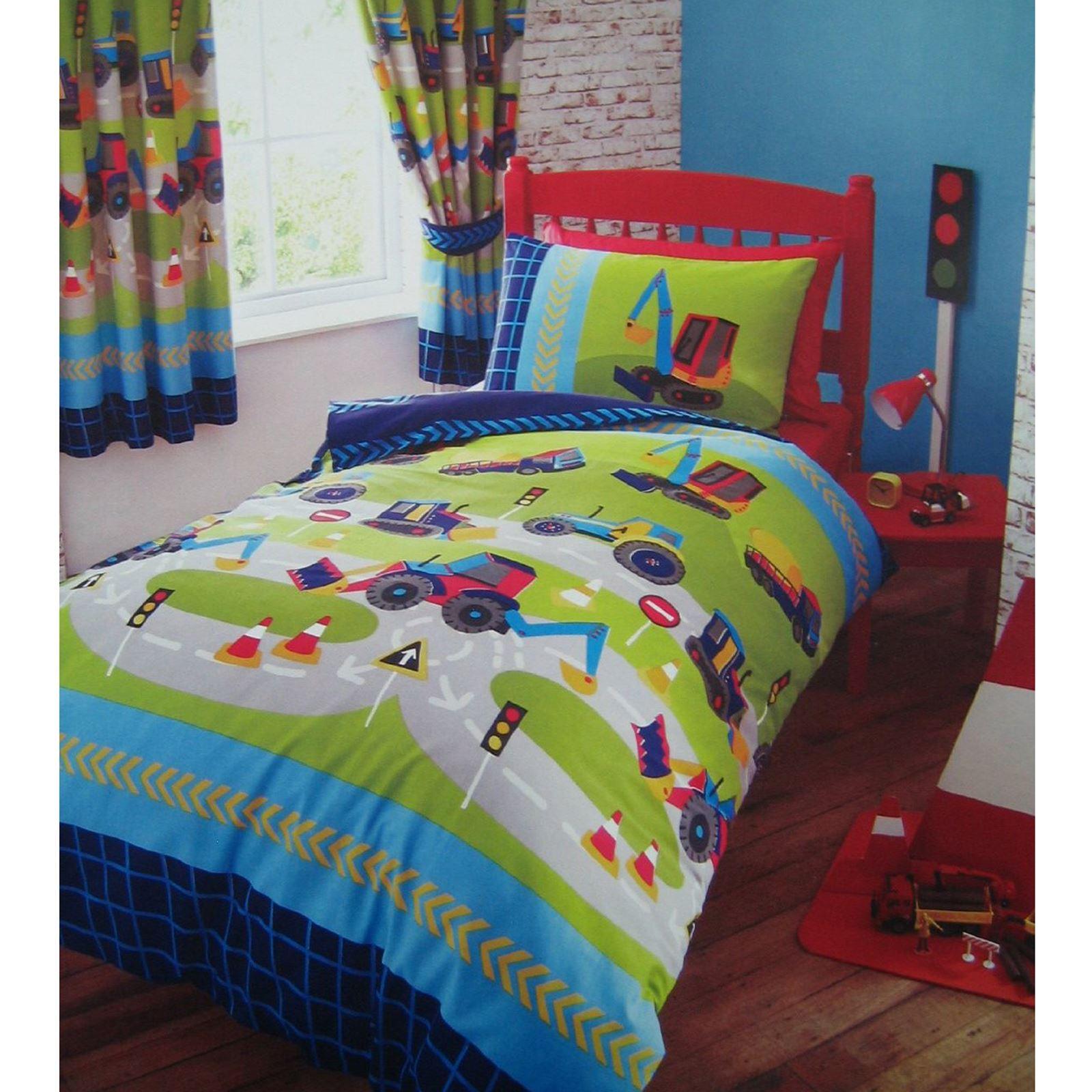 Mineurs set housse de couette en simple rideaux en lin chambre d 39 enfant gamme ebay - Housse de couette en lin ikea ...