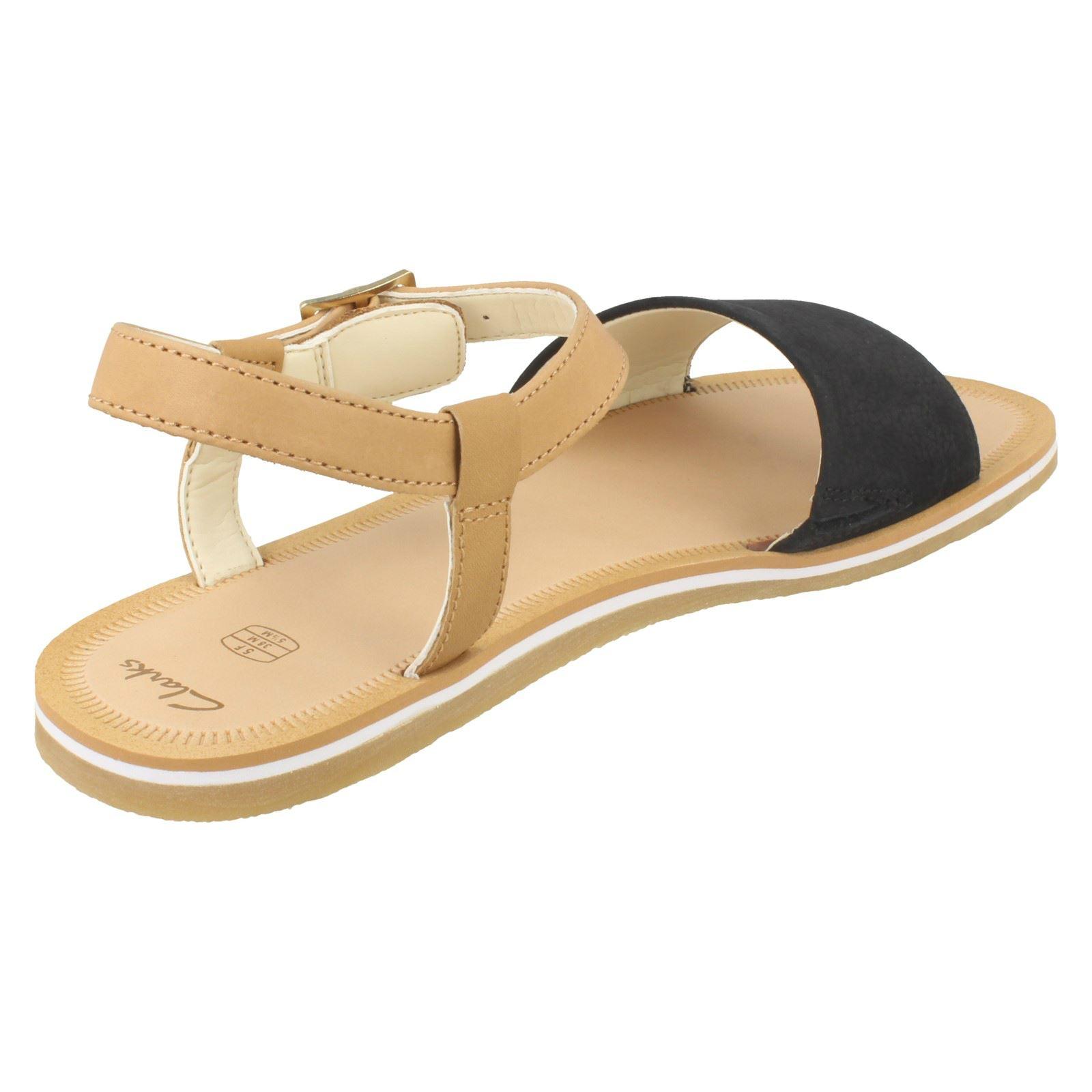Girls Clarks Stylish Summer Sandals /'Skylark Pure Y/'