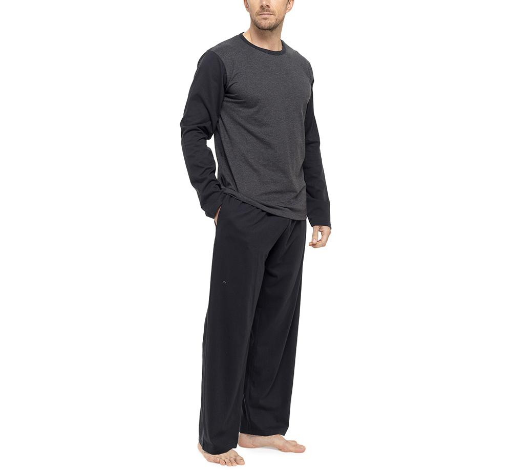 Hommes pyjama ensemble pyjama v tement d 39 int rieur ebay for Vetement interieur