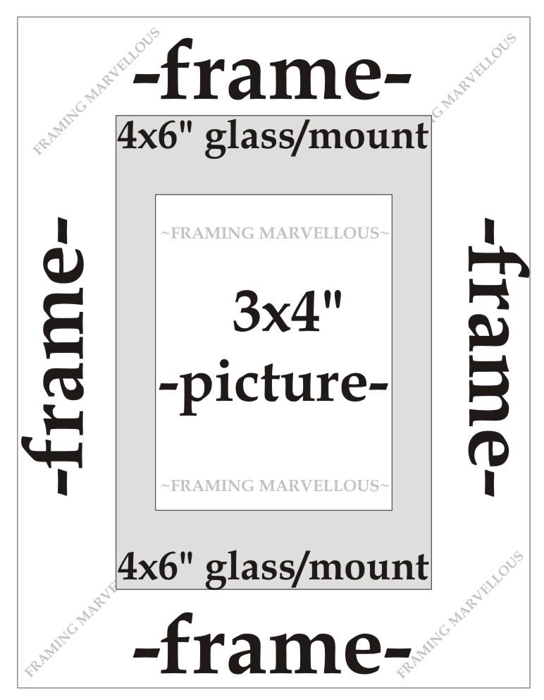 gebürstet brozne Effekt Foto Bild Rahmen mit Elfenbein Halterung ...