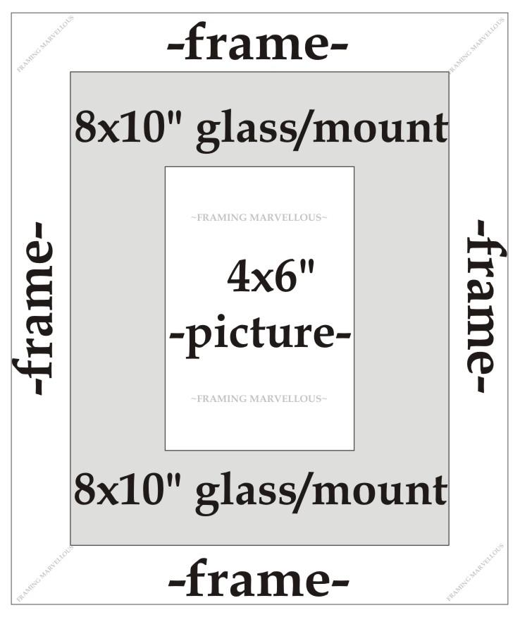 Metálico Champán efecto foto marco con Negro Soporte - Tamaño a ...
