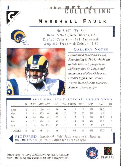 2000-Topps-Gallery-Football-Card-Pick thumbnail 3