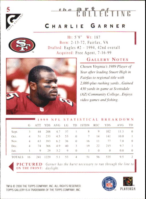 2000-Topps-Gallery-Football-Card-Pick thumbnail 11