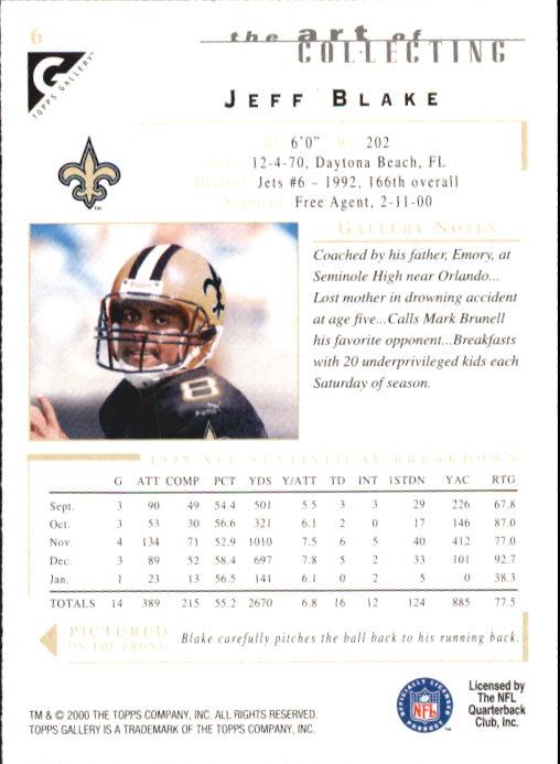 2000-Topps-Gallery-Football-Card-Pick thumbnail 13