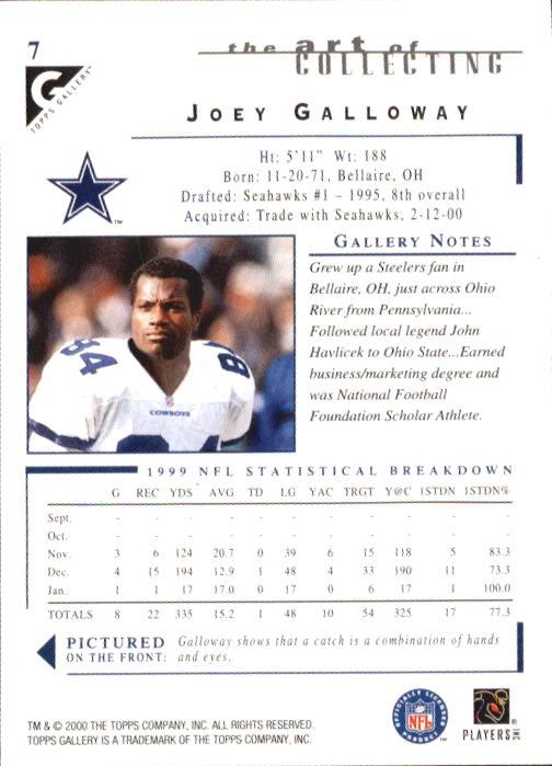 2000-Topps-Gallery-Football-Card-Pick thumbnail 15