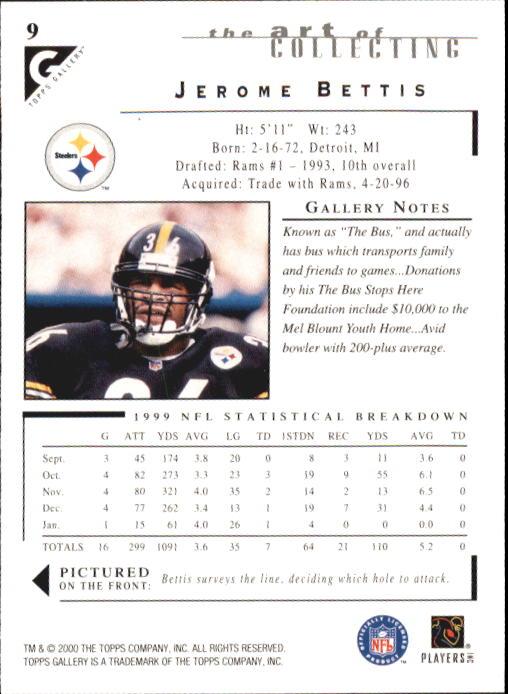 2000-Topps-Gallery-Football-Card-Pick thumbnail 19