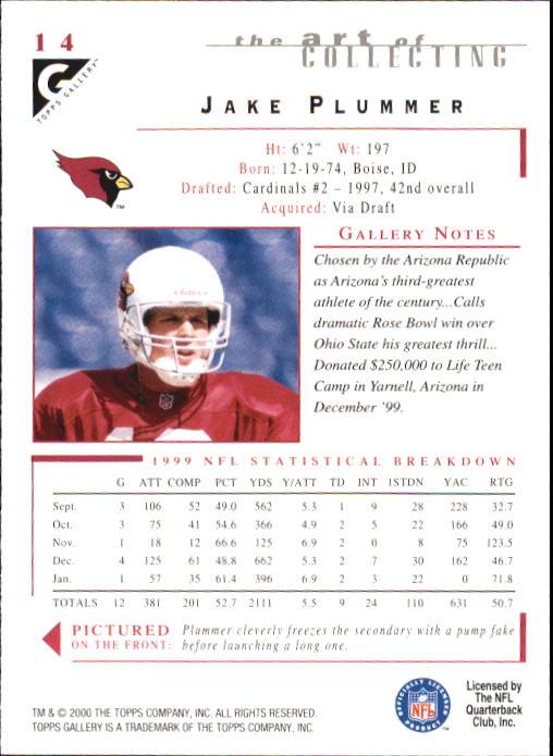 2000-Topps-Gallery-Football-Card-Pick thumbnail 27