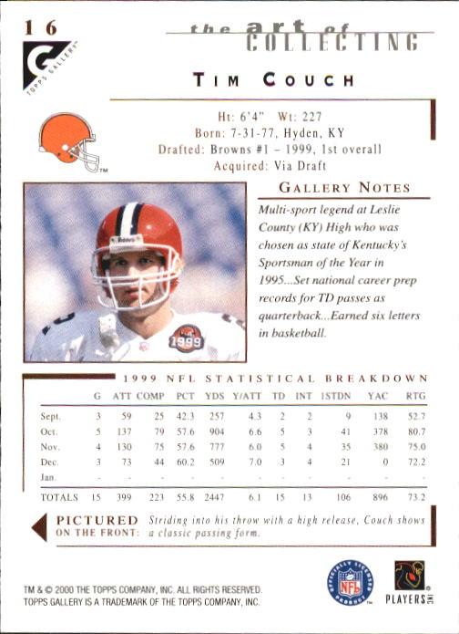 2000-Topps-Gallery-Football-Card-Pick thumbnail 31