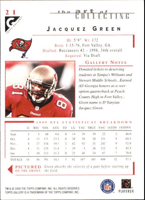 2000-Topps-Gallery-Football-Card-Pick thumbnail 39