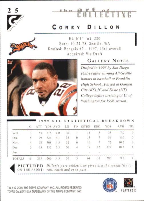 2000-Topps-Gallery-Football-Card-Pick thumbnail 47