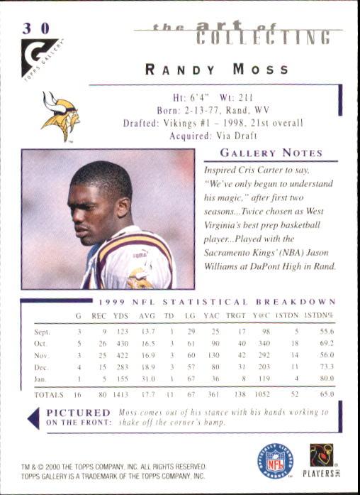 2000-Topps-Gallery-Football-Card-Pick thumbnail 57