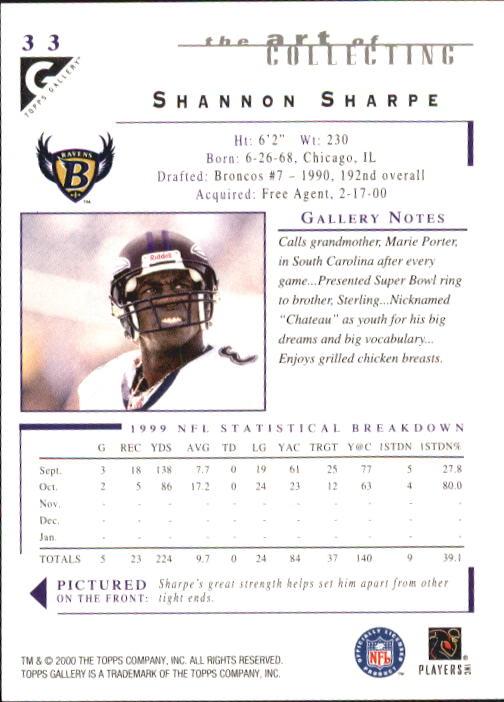 2000-Topps-Gallery-Football-Card-Pick thumbnail 63