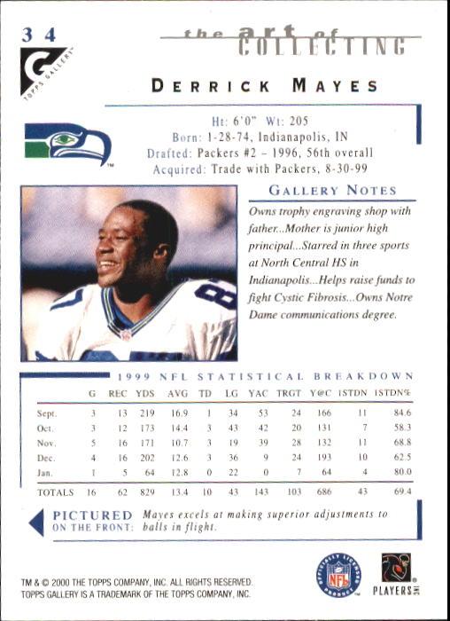 2000-Topps-Gallery-Football-Card-Pick thumbnail 65