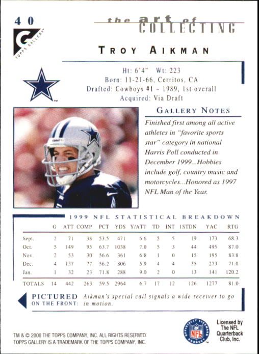 2000-Topps-Gallery-Football-Card-Pick thumbnail 77