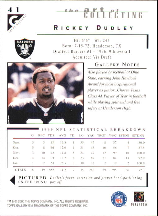 2000-Topps-Gallery-Football-Card-Pick thumbnail 79
