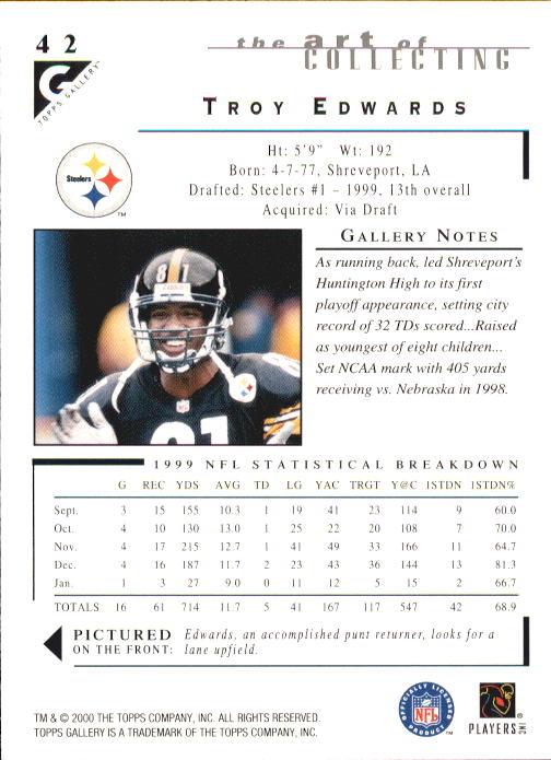 2000-Topps-Gallery-Football-Card-Pick thumbnail 81