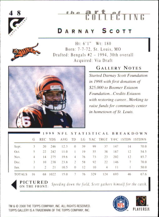 2000-Topps-Gallery-Football-Card-Pick thumbnail 93