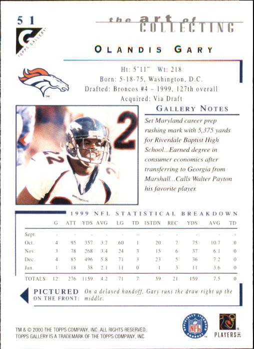 2000-Topps-Gallery-Football-Card-Pick thumbnail 99