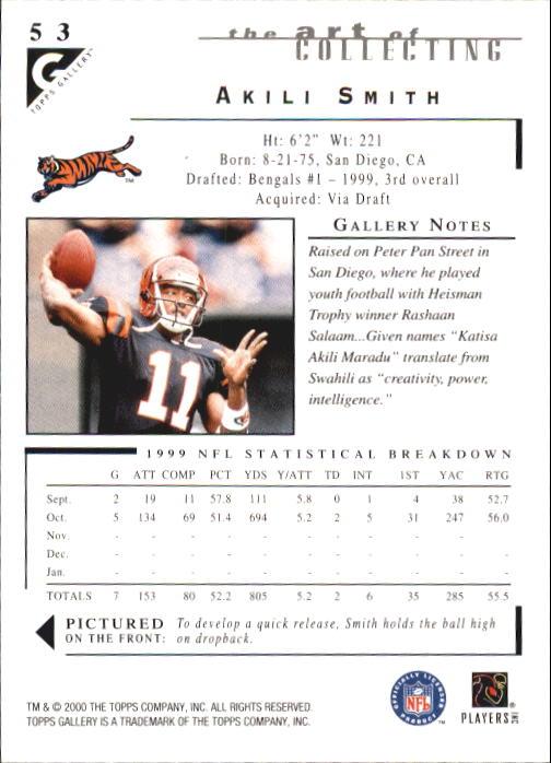 2000-Topps-Gallery-Football-Card-Pick thumbnail 103