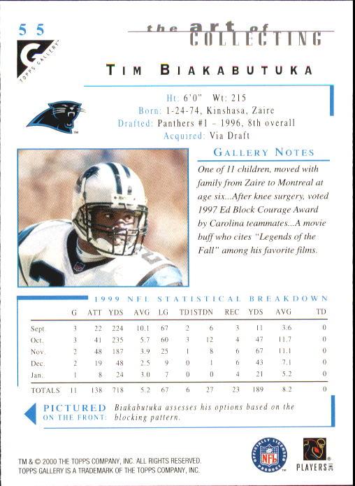 2000-Topps-Gallery-Football-Card-Pick thumbnail 107