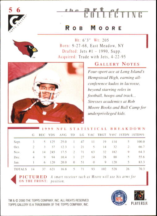 2000-Topps-Gallery-Football-Card-Pick thumbnail 109