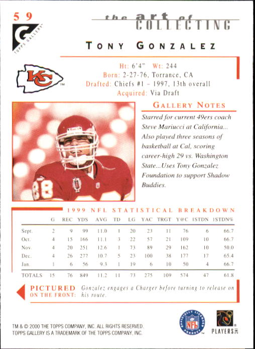 2000-Topps-Gallery-Football-Card-Pick thumbnail 115