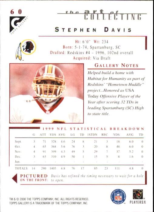 2000-Topps-Gallery-Football-Card-Pick thumbnail 117