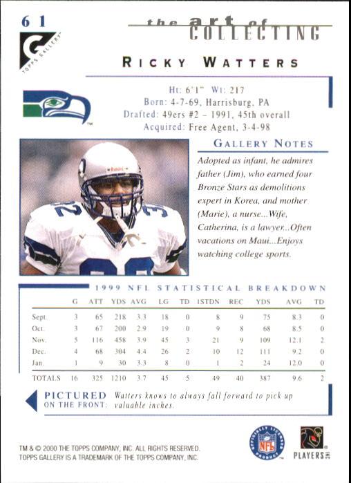2000-Topps-Gallery-Football-Card-Pick thumbnail 119