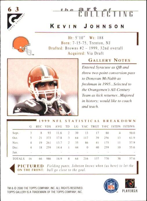 2000-Topps-Gallery-Football-Card-Pick thumbnail 123