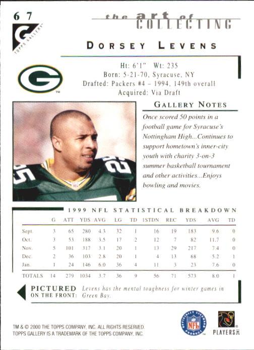 2000-Topps-Gallery-Football-Card-Pick thumbnail 131