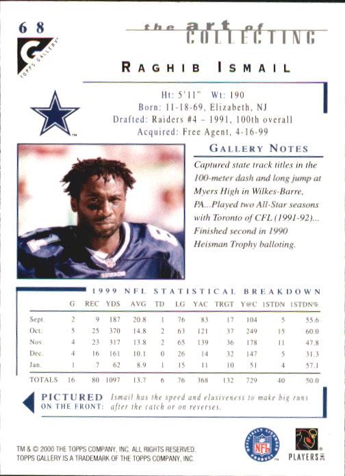 2000-Topps-Gallery-Football-Card-Pick thumbnail 133