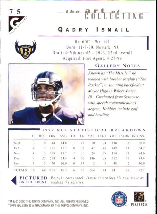 2000-Topps-Gallery-Football-Card-Pick thumbnail 147