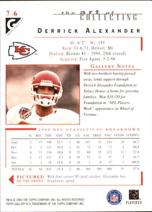 2000-Topps-Gallery-Football-Card-Pick thumbnail 149