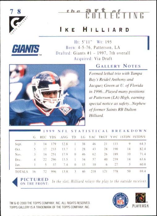 2000-Topps-Gallery-Football-Card-Pick thumbnail 153