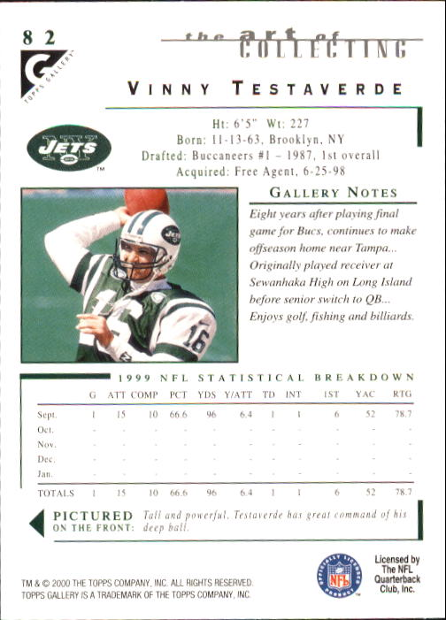 2000-Topps-Gallery-Football-Card-Pick thumbnail 159