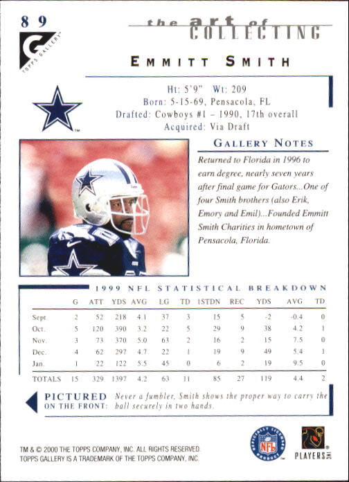 2000-Topps-Gallery-Football-Card-Pick thumbnail 173