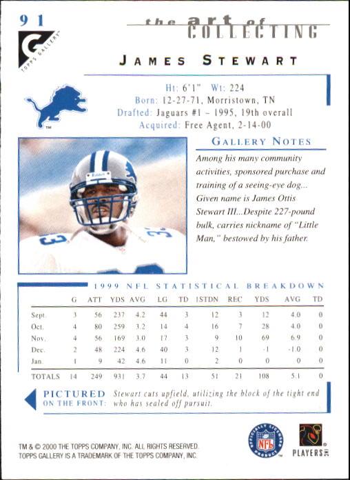 2000-Topps-Gallery-Football-Card-Pick thumbnail 177
