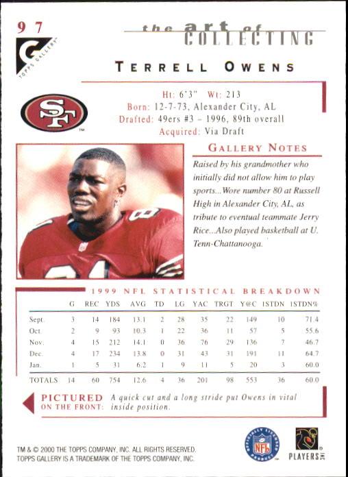 2000-Topps-Gallery-Football-Card-Pick thumbnail 189