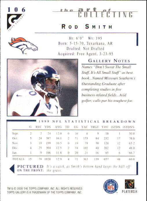 2000-Topps-Gallery-Football-Card-Pick thumbnail 207