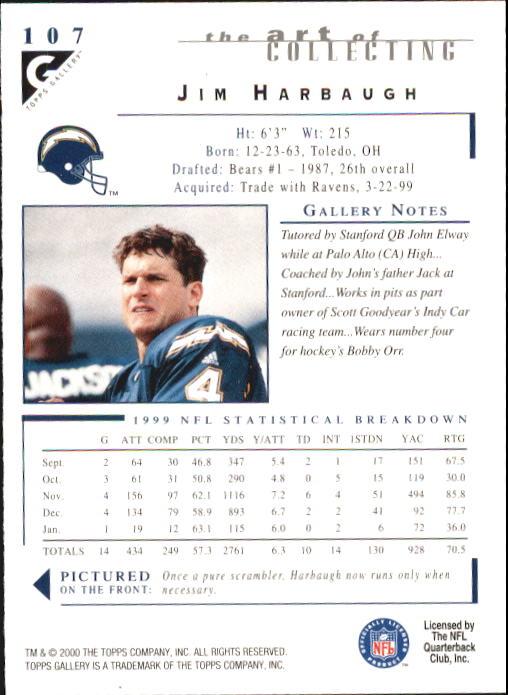 2000-Topps-Gallery-Football-Card-Pick thumbnail 209
