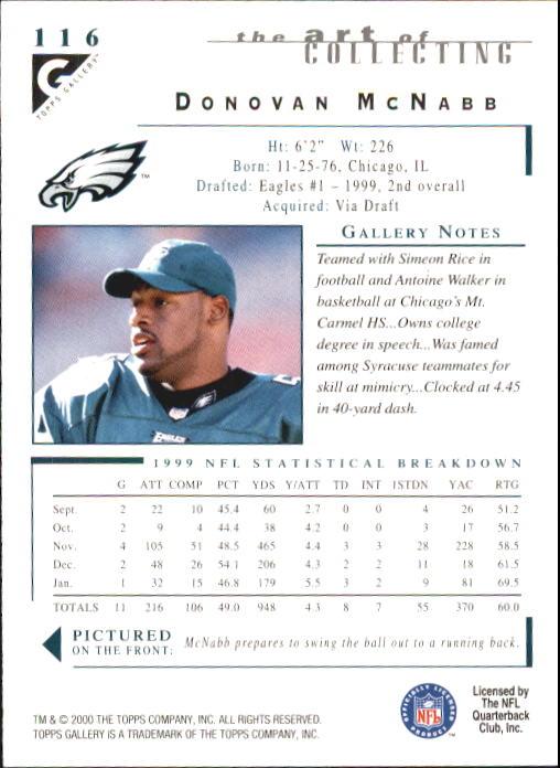 2000-Topps-Gallery-Football-Card-Pick thumbnail 227