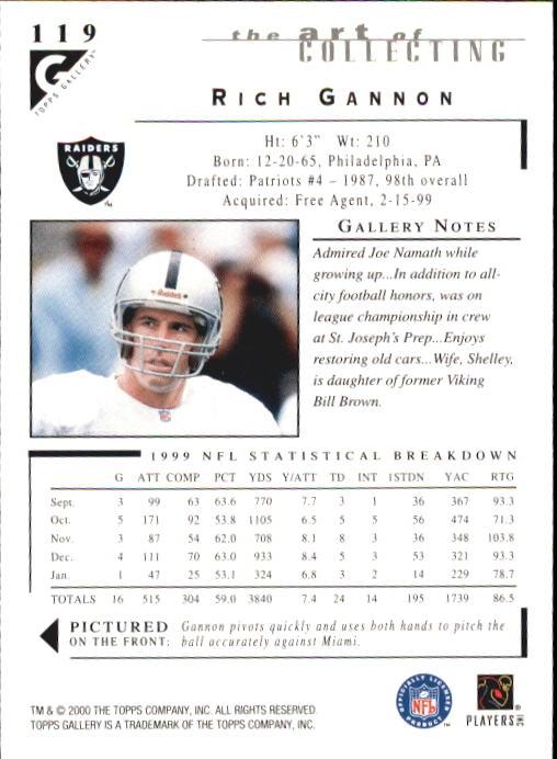 2000-Topps-Gallery-Football-Card-Pick thumbnail 233