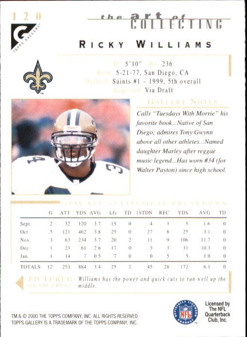 2000-Topps-Gallery-Football-Card-Pick thumbnail 235
